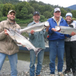 go salmon fishing on the Rogue River in Gold Beach