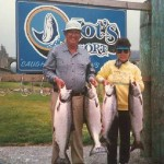 Ron Smith's guided salmon fishing trips in Gold Beach